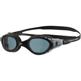 speedo Futura Biofuse Flexiseal Okulary pływackie, czarny/szary